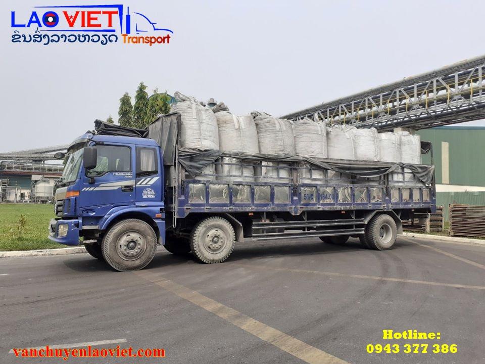 Vận chuyển hàng dự án đi Lào