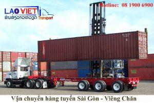 Vận chuyển hàng Sài Gòn - Viêng Chăn