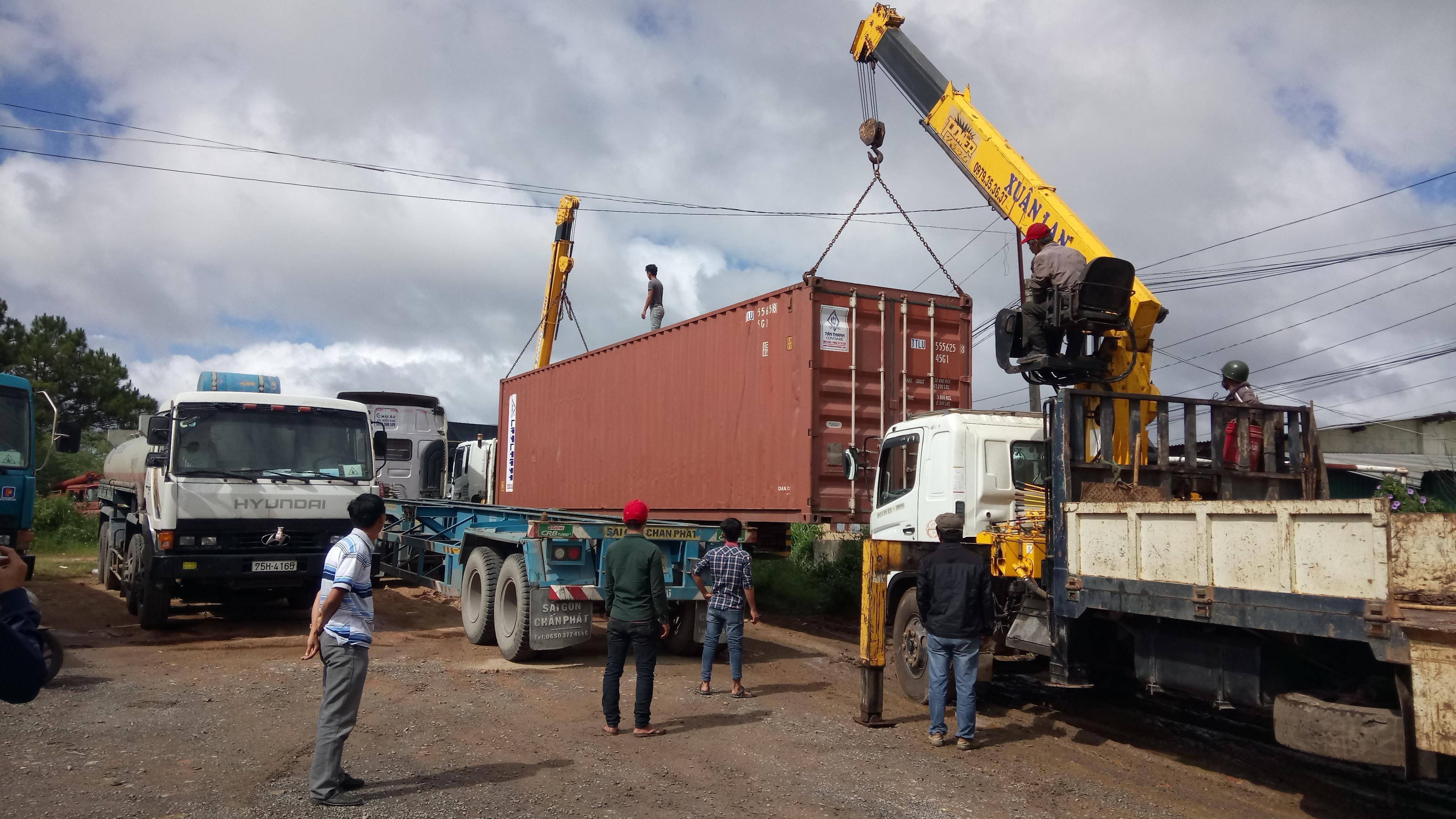 vận chuyển hàng hóa Bình Dương đi Viêng Chăn bằng container