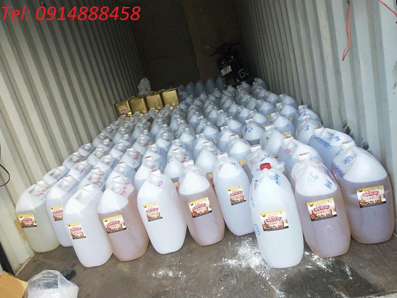 Vận chuyển hàng hóa chất Sài Gòn-Viêng Chăn