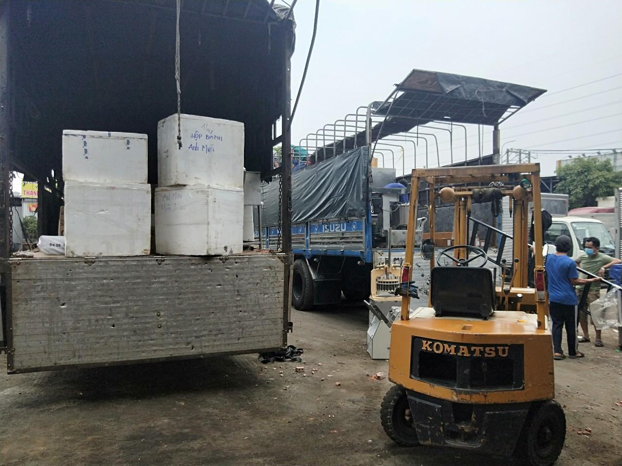 vận chuyển hàng hóa từ Bình Dương đi Lào