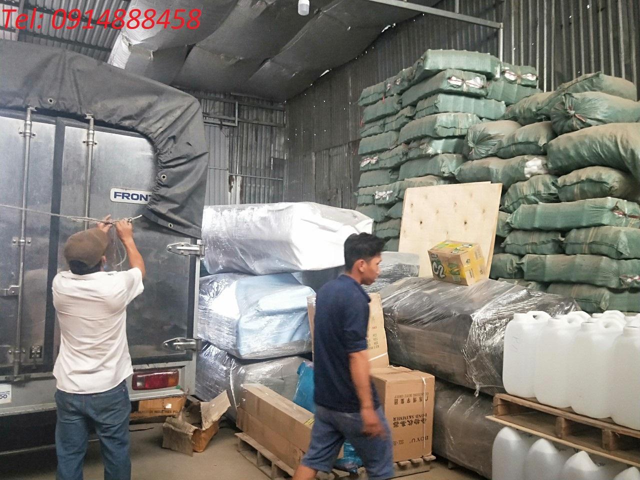 Vận chuyển hàng lẻ từ Sài Gòn đi Pakxe