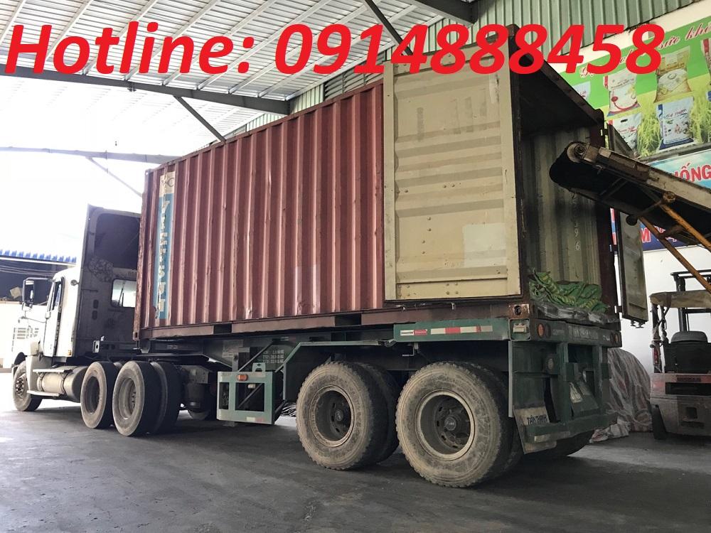 vận chuyển gạo đi Lào bằng container