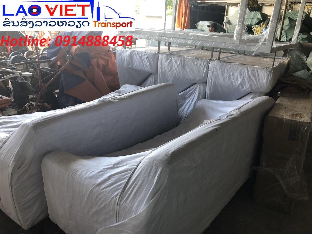 Vận chuyển nội thất đi Lào giá rẻ