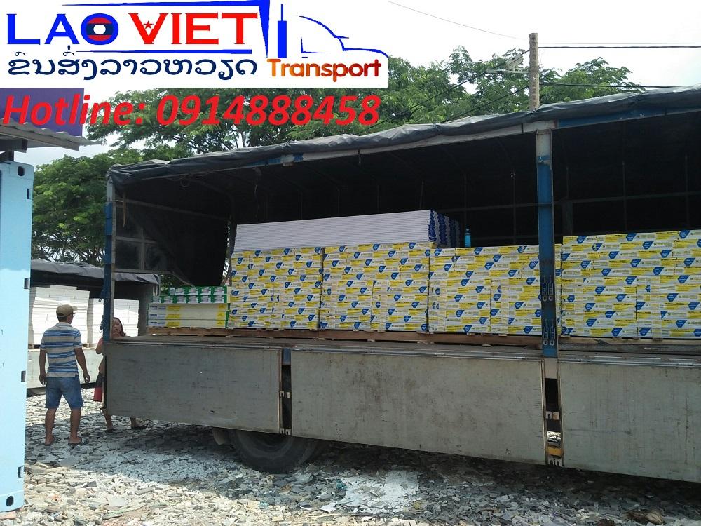 Vận chuyển thạch cao đi Lào