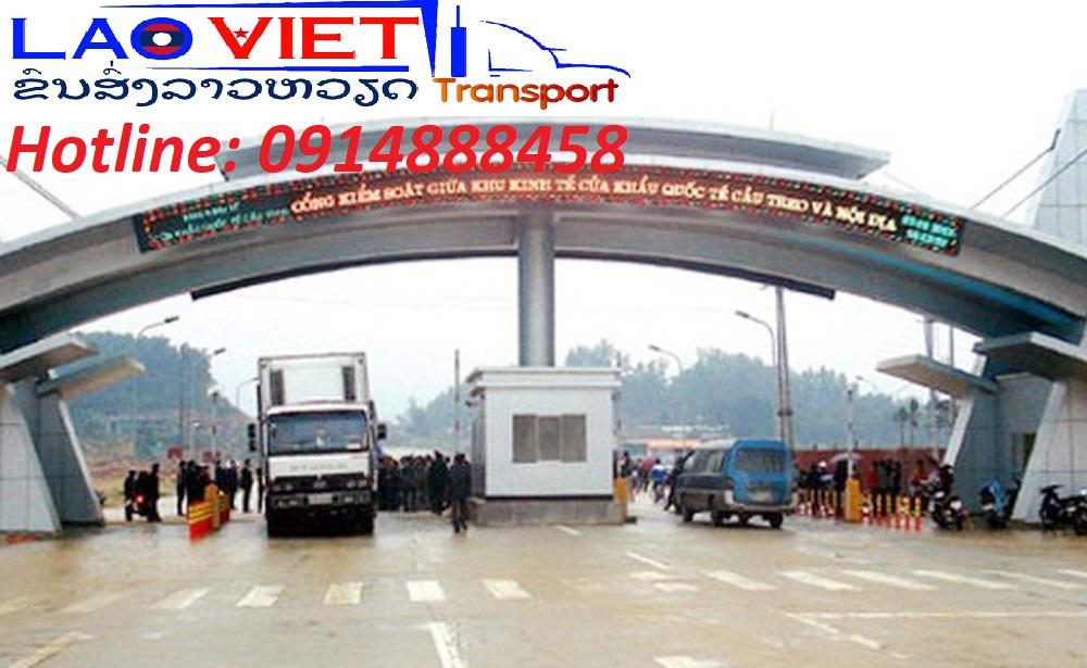 Vận chuyển hàng hóa đi Lào qua của khẩu quốc tế Cầu Treo