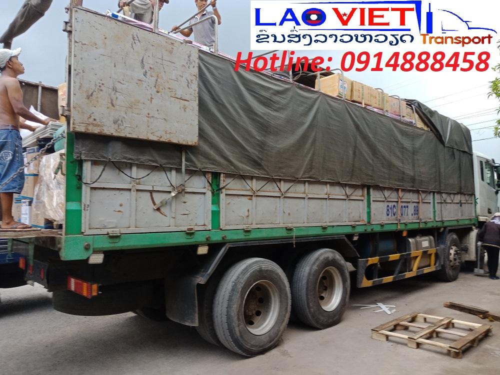 Vận chuyển hàng hóa từ Việt Nam đi Viêng Chăn