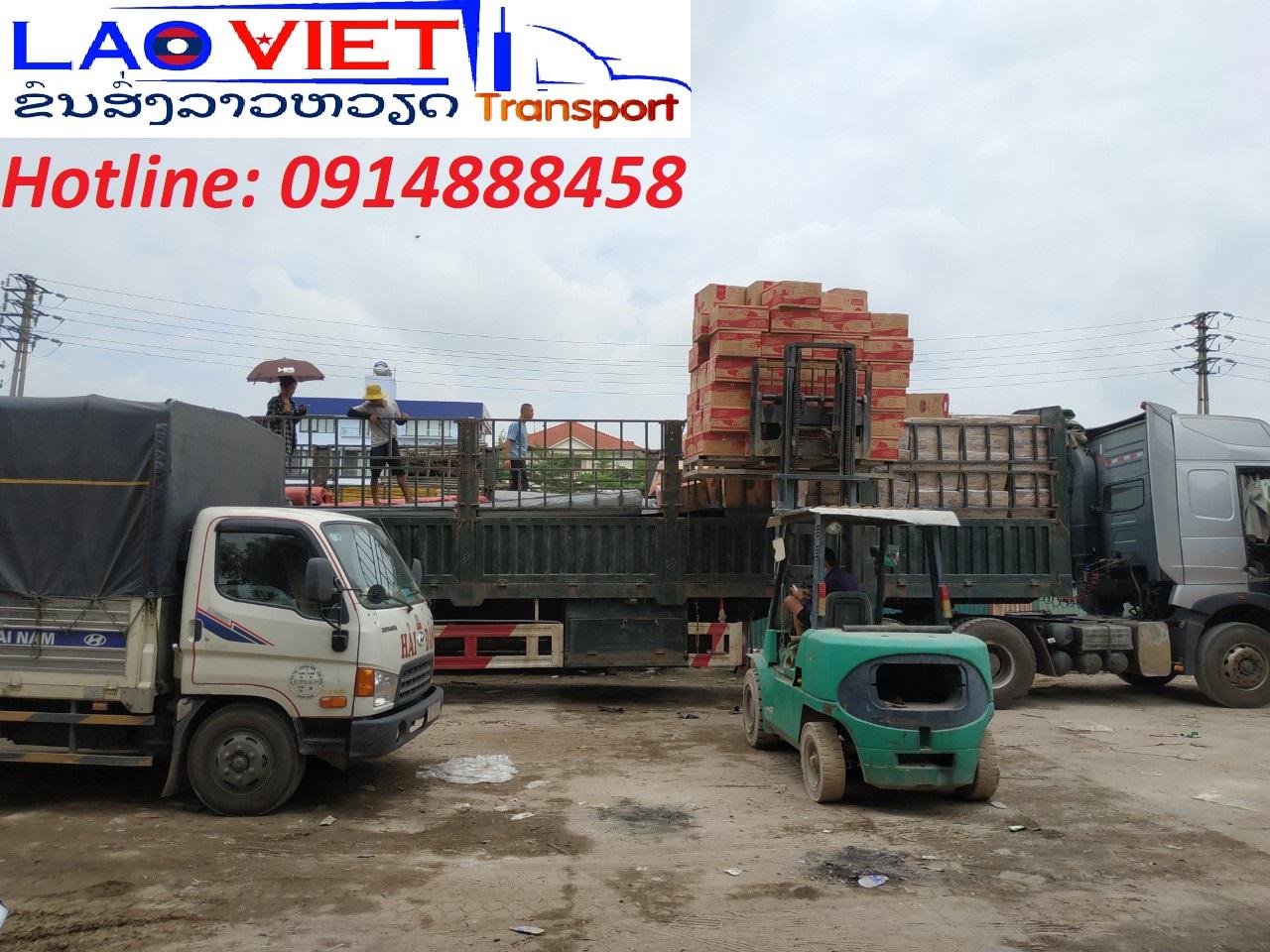 Vận chuyển hàng hóa từ Hà Nội đi Viêng Chăn