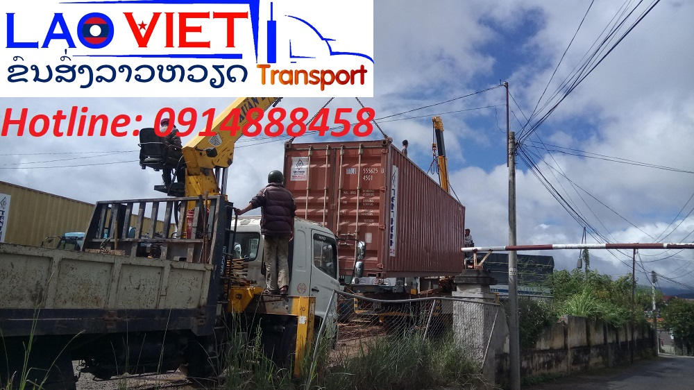 Vận chuyển hàng từ cửa khẩu Hữu Nghị đi Lào