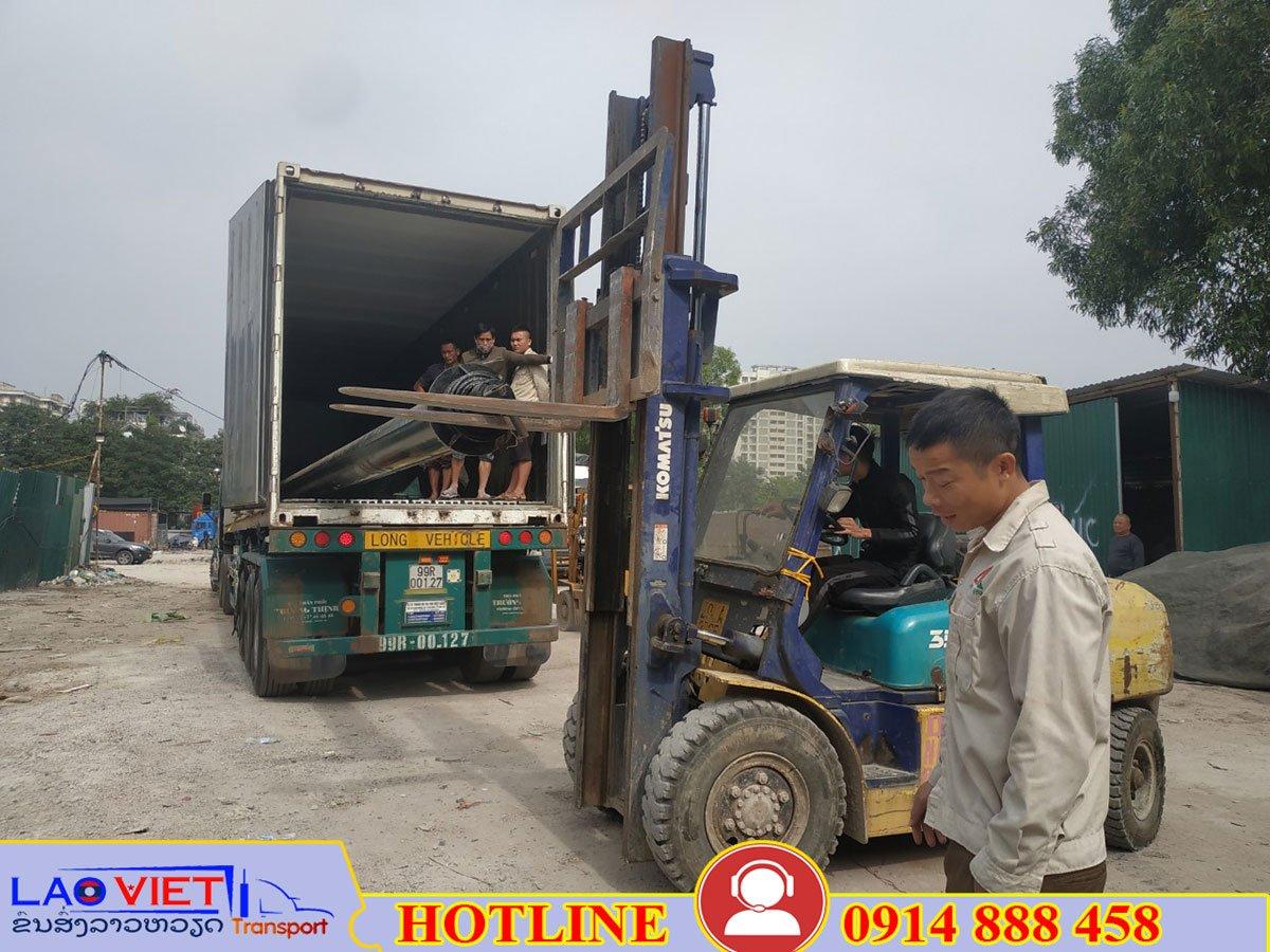 Vận chuyển hàng Long An đi Lào