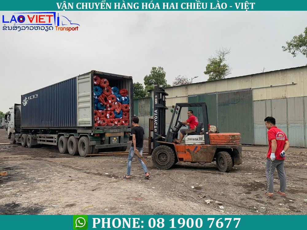 dịch vụ vận chuyển hàng Việt - Lào