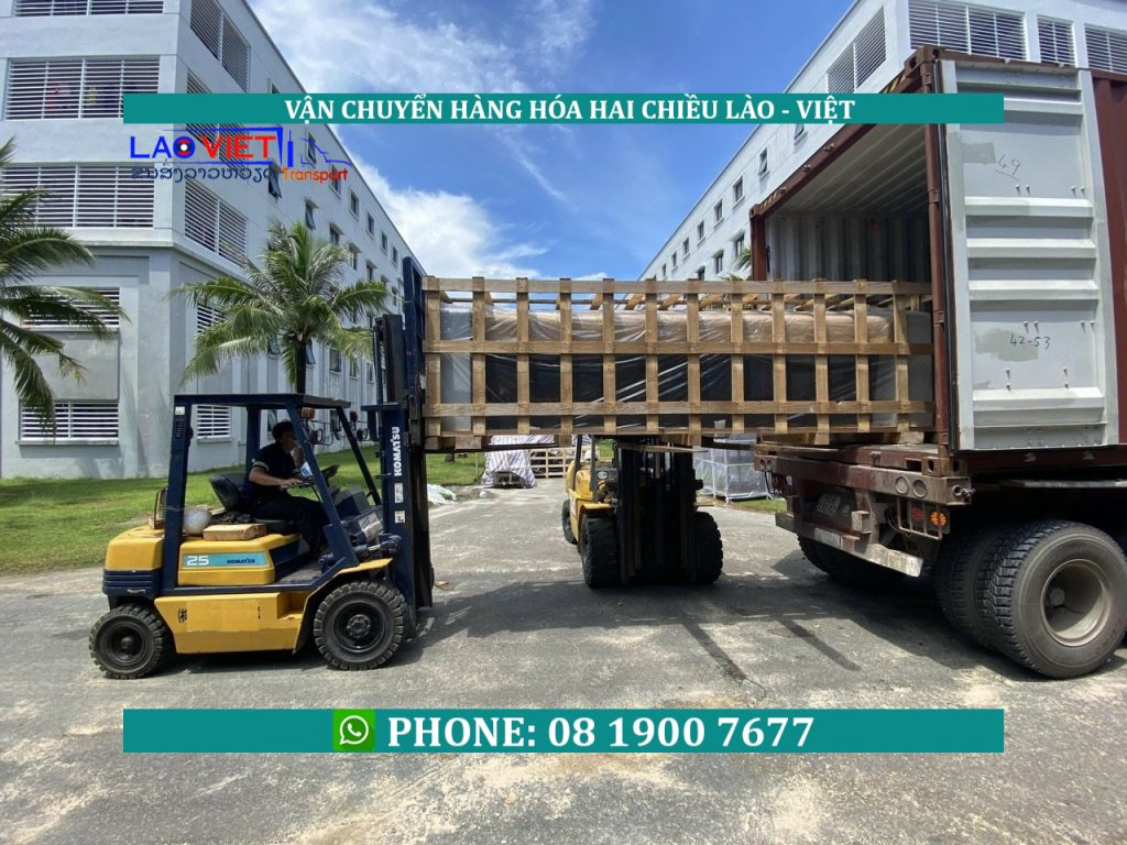 chuyển hàng đi Lào bao thuế