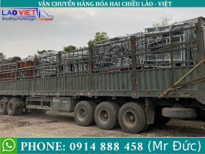 Chành xe vận chuyển hàng đi Viêng Chăn Lào