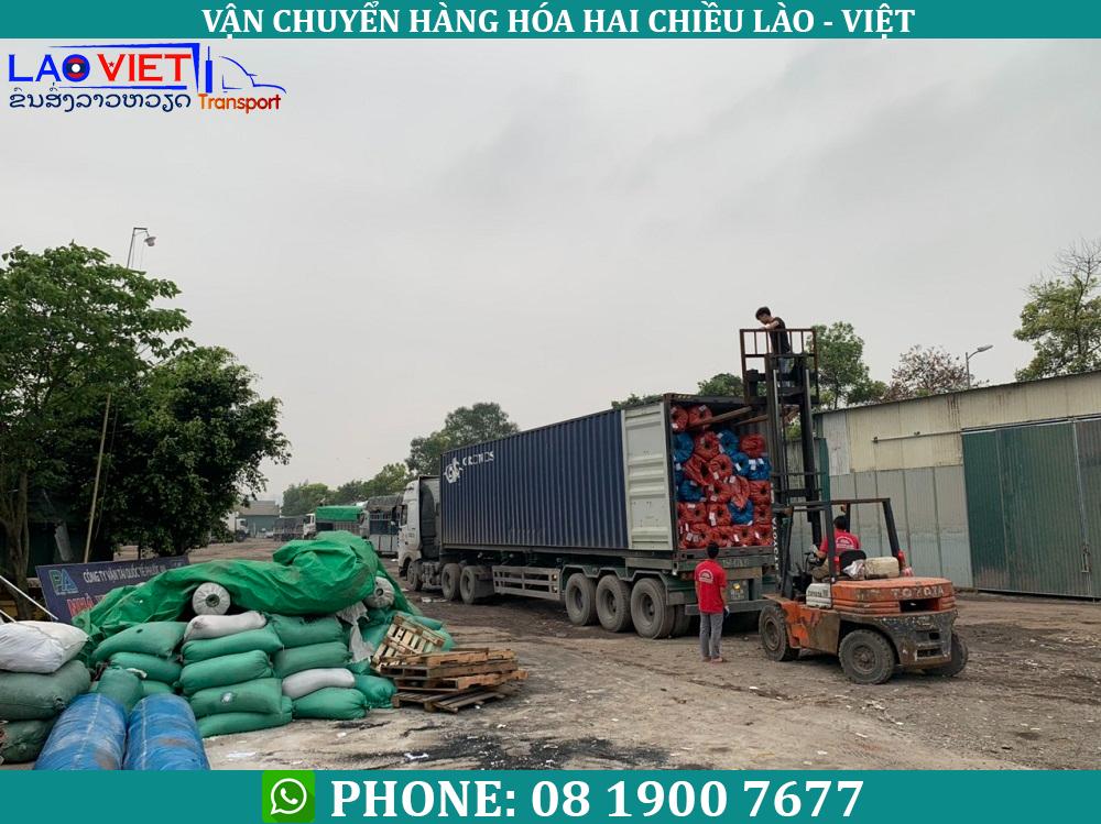 Dịch vụ vận chuyển hàng hóa từ Việt Nam đi Lào