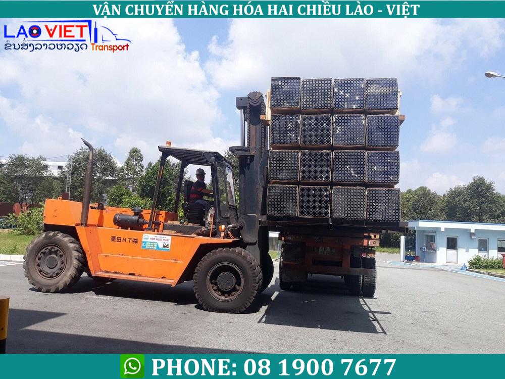 dịch vụ vận chuyển hàng quá khổ quá tải đi Lào