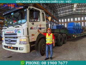 Vận chuyển hàng đi Lào an toàn