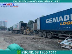 vận chuyển hàng sang Lào qua cửa khẩu nào